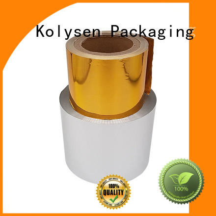 Kolysen wrapping chocolate aluminium wrapping foil Supply for wrapping confectionery