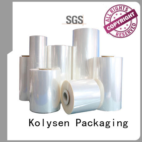 Kolysen oem pvc shrink film online wholesale market for Pre-forms and full body sleeve labels