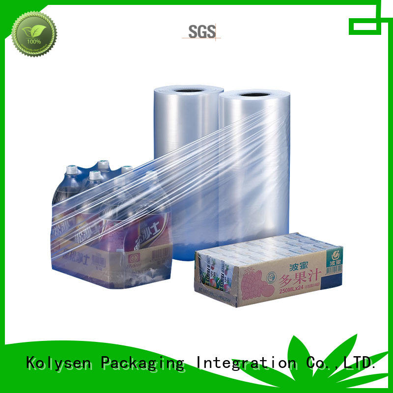 Kolysen pvc shrink film online wholesale market for Pre-forms and full body sleeve labels