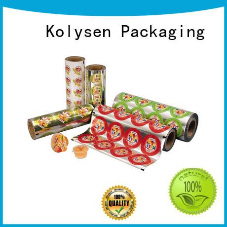 Kolysen retort packaging wholesale online shopping for wrapping beverage