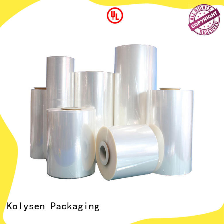 popular heat shrink film online wholesale market for Pre-forms and full body sleeve labels