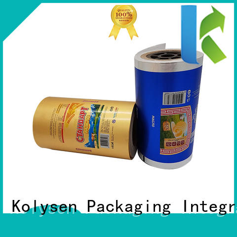Kolysen convenient cheese foil manufacturer for wrapping butter/margarine