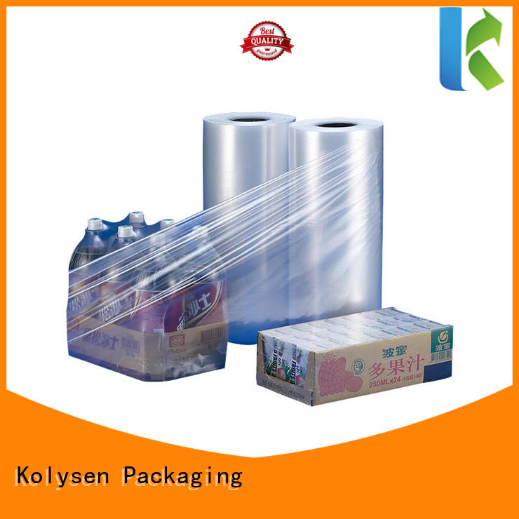 Kolysen plastic film roll for business for food packaging