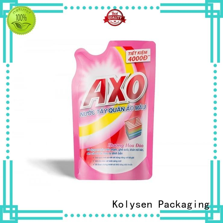 Kolysen doypack packaging directly price for wrapping yoghurt