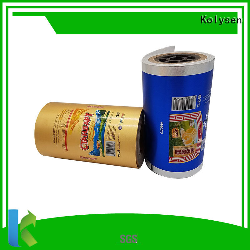 Kolysen aluminum foil paper cheap wholesale for wrapping butter/margarine