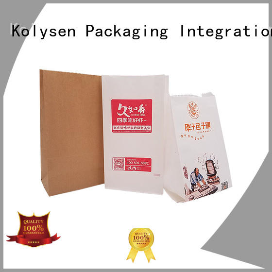 Kolysen standup pouch wholesale online shopping for wrapping honey