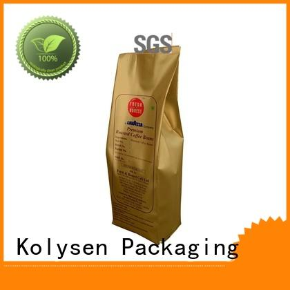 Kolysen food sealer bags directly price used in chemical market