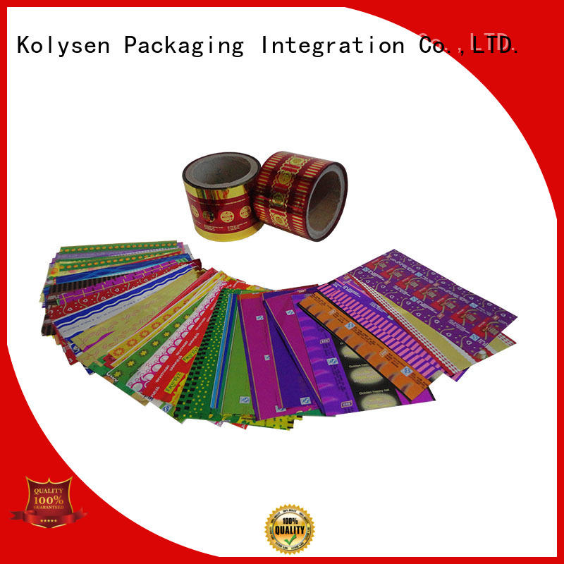 Kolysen plastic film packaging online wholesale market for Pre-forms and full body sleeve labels