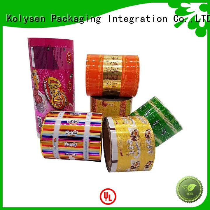 Kolysen stand up pouch bags manufacturers used in pharmaceutical market
