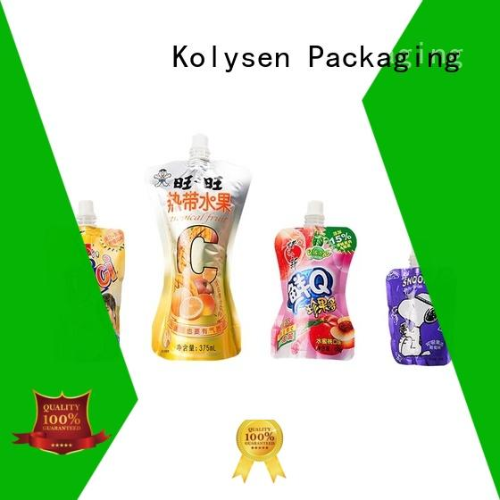 Kolysen hot dog foil bags manufacturers for wrapping milk
