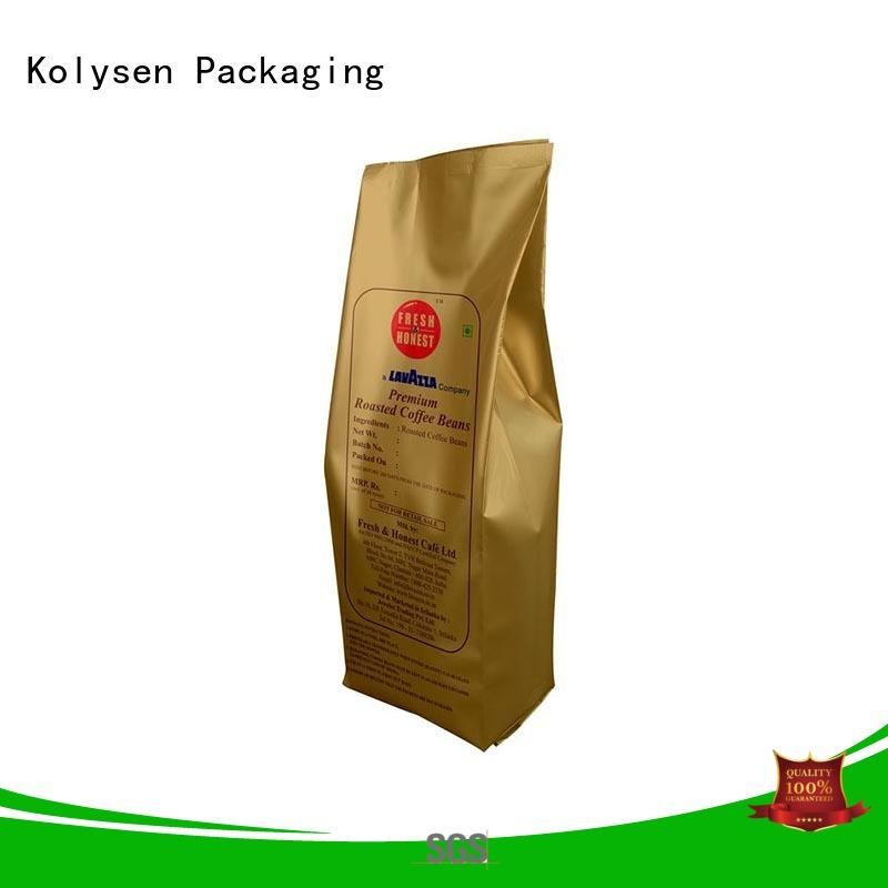 Kolysen food grade pouch packaging wholesale online shopping used in food and beverage