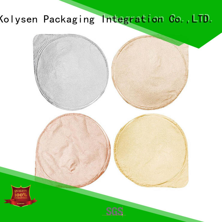 Kolysen wrapping aluminum foil laminated paper for butter wrapping cheap wholesale for wrapping ice cream