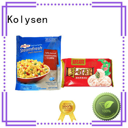 Kolysen custom burger bag used in food and beverage