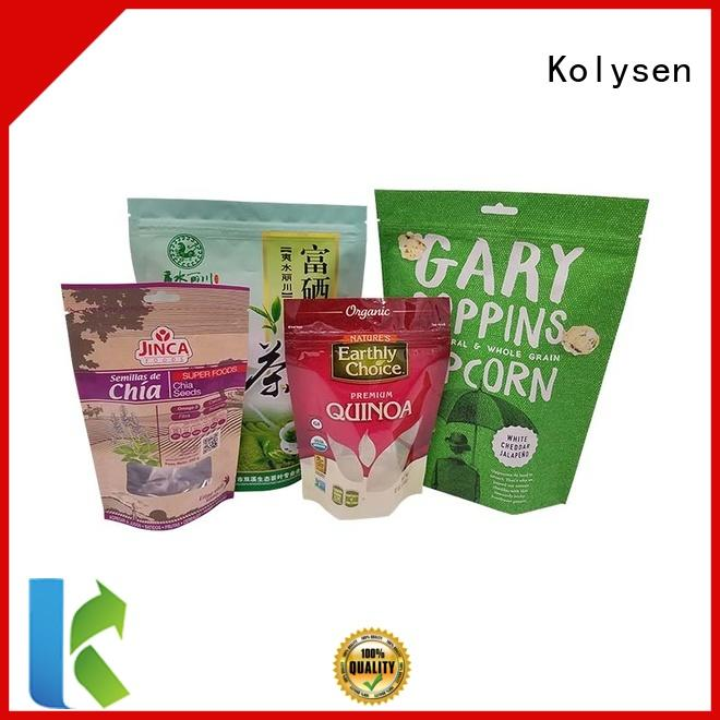 Kolysen food sealer bags buy products from china for wrapping milk