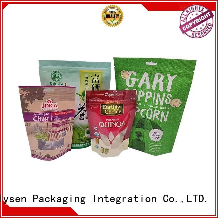 new design food packaging bag directly price used in electronics market