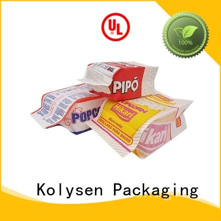 Kolysen new design stand up pouches wholesale wholesale online shopping used in pharmaceutical market