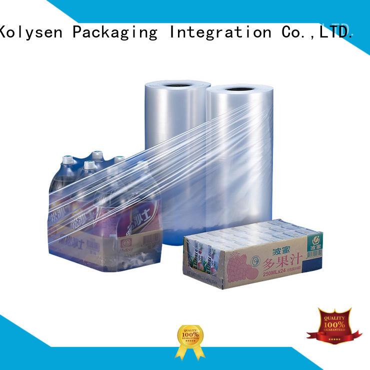 Kolysen odm heat shrink wrap online wholesale market for tamper evident seals