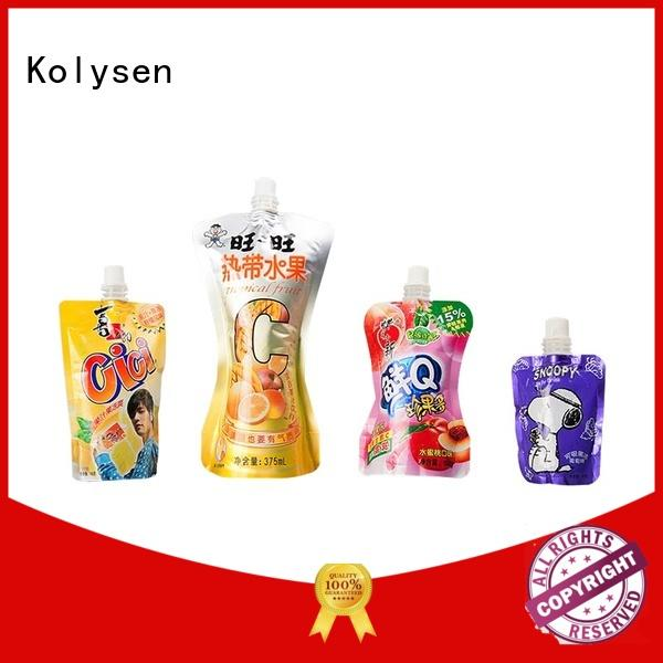Kolysen convenient use candy packaging directly price used in pharmaceutical market