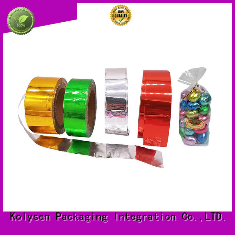 Kolysen foil paper manufacturer for wrapping chewing gum
