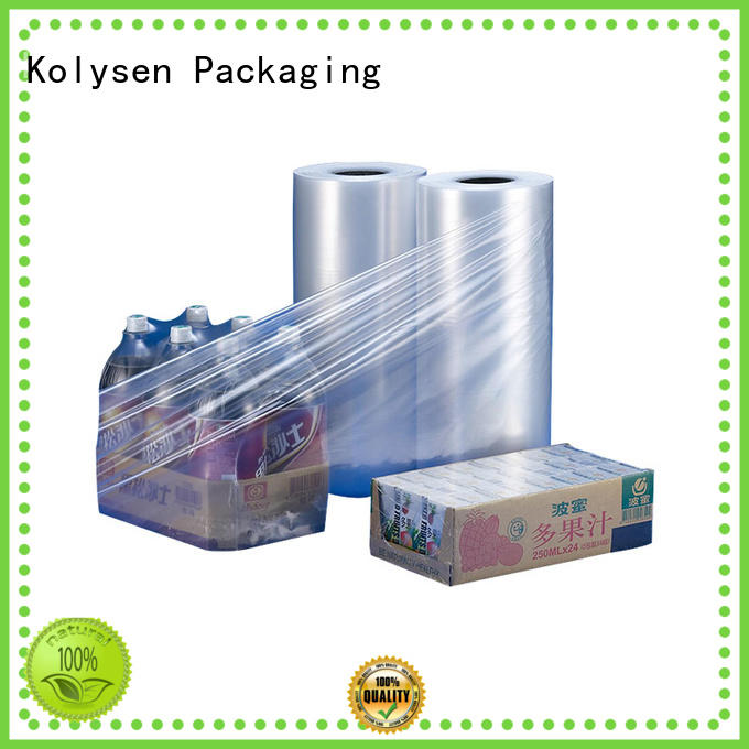 Kolysen heat shrink film online wholesale market for Pre-forms and full body sleeve labels