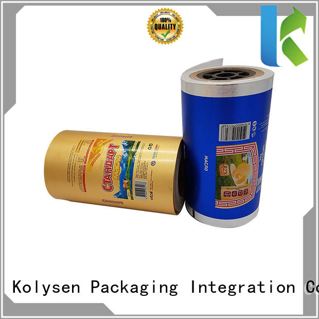 Kolysen bulk aluminum foil packaging wholesale products for sale for wrapping chocolate