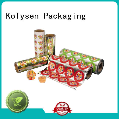 Kolysen ziplock stand up pouch manufacturers for wrapping soft drink