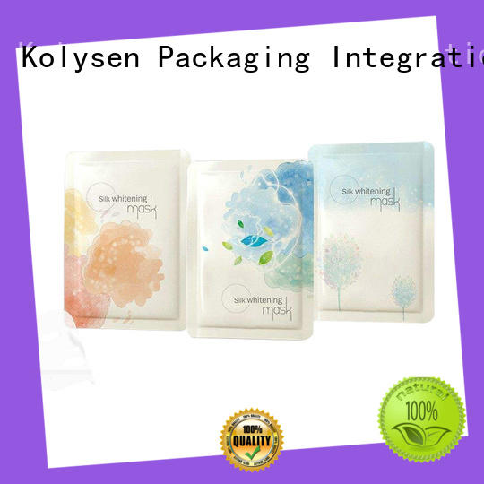 Kolysen standup food packaging film buy products from china for wrapping honey