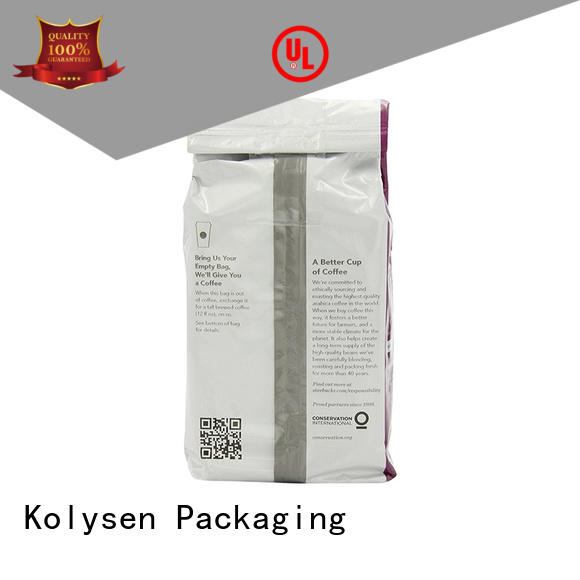 standup food packaging bag directly price for wrapping honey