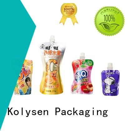 Kolysen food sealer bags directly price used in electronics market