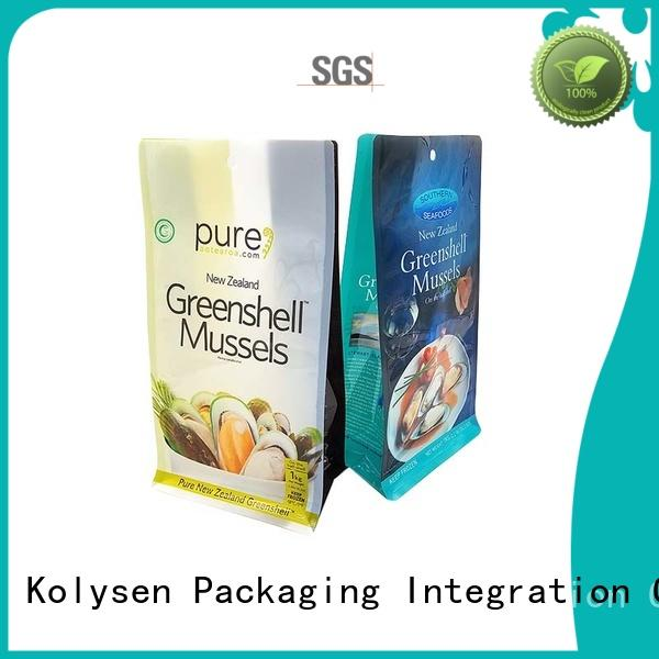 Kolysen standup drink pouches buy products from china for wrapping honey
