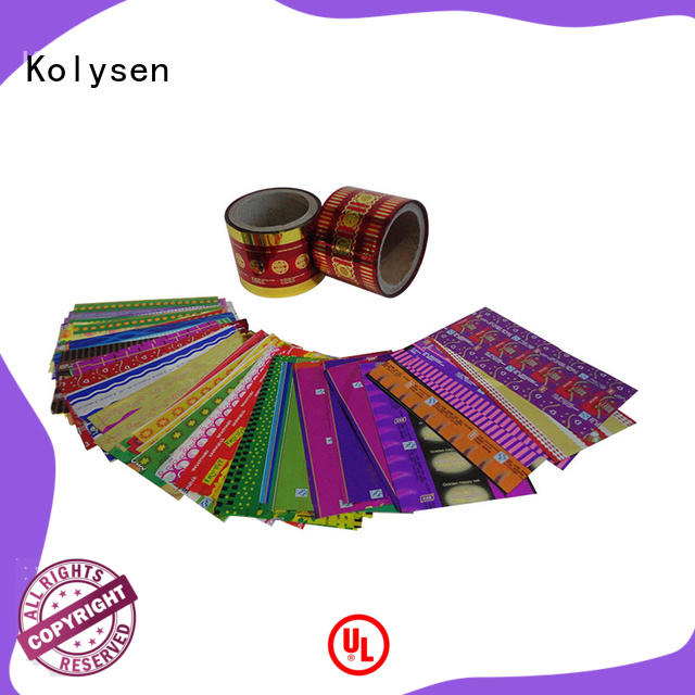 Kolysen popular candy wrapping wholesale products to sell for food packaging