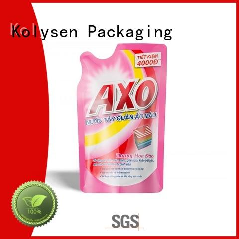 Kolysen High-quality stand up pouch packaging for business for wrapping milk