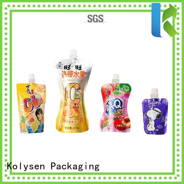 Kolysen convenient use chips packaging directly price for wrapping milk