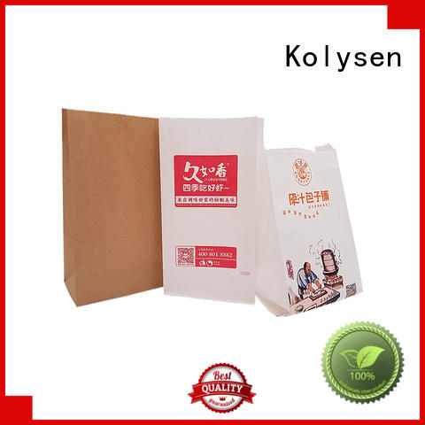 Kolysen food grade snack bags wholesale online shopping for wrapping beverage