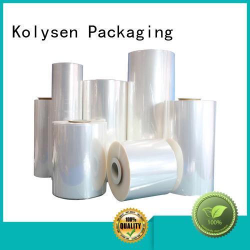 Kolysen shrink film online wholesale market for Pre-forms and full body sleeve labels