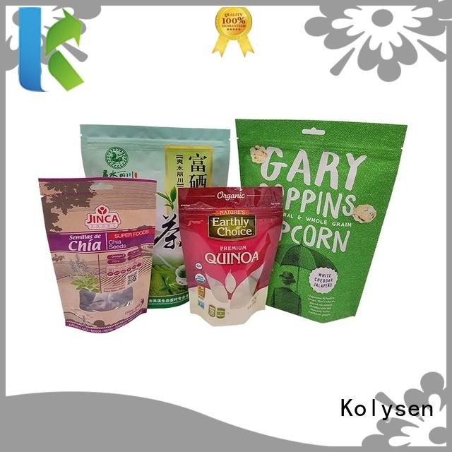 Kolysen standup pouch buy products from china used in pharmaceutical market