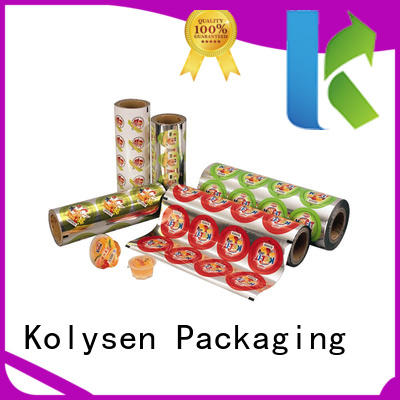 Kolysen sealed food packaging directly price for wrapping honey