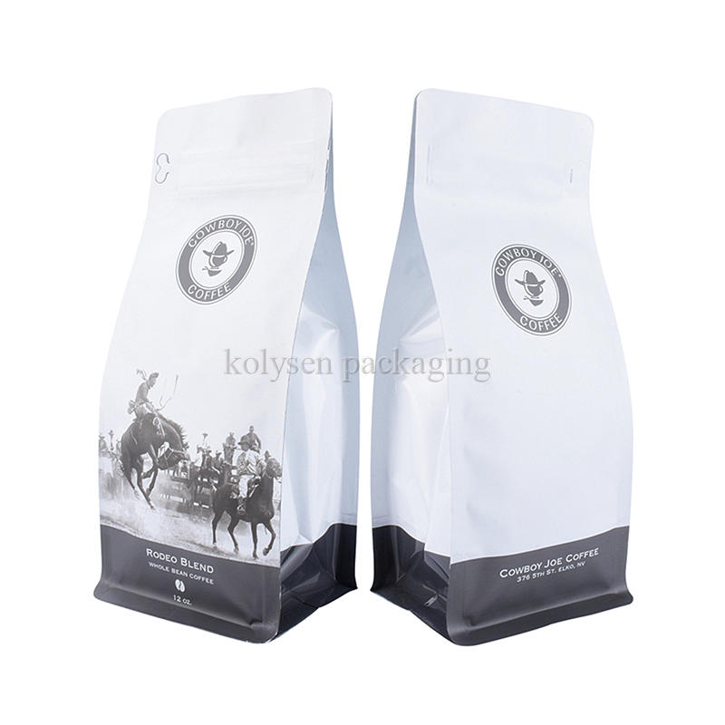Foil Square Bottom Gusseted Bags