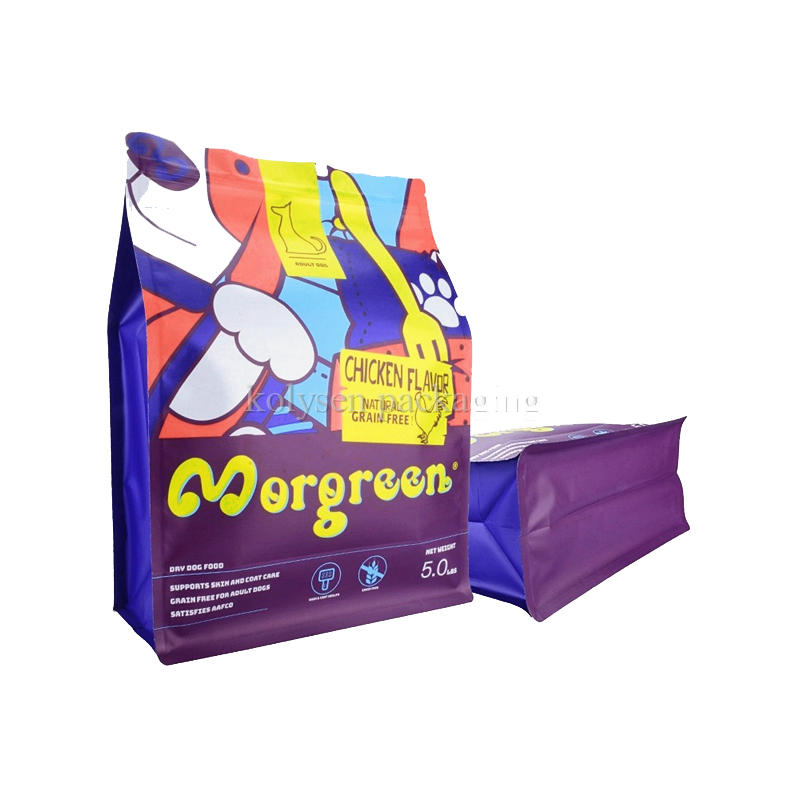 Cereal Packaging Flat Bottom Stand Up Bags