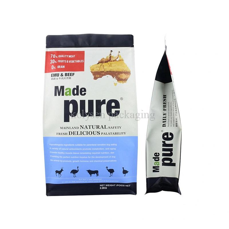 Custom Herb Packaging Flat Bottom Bags