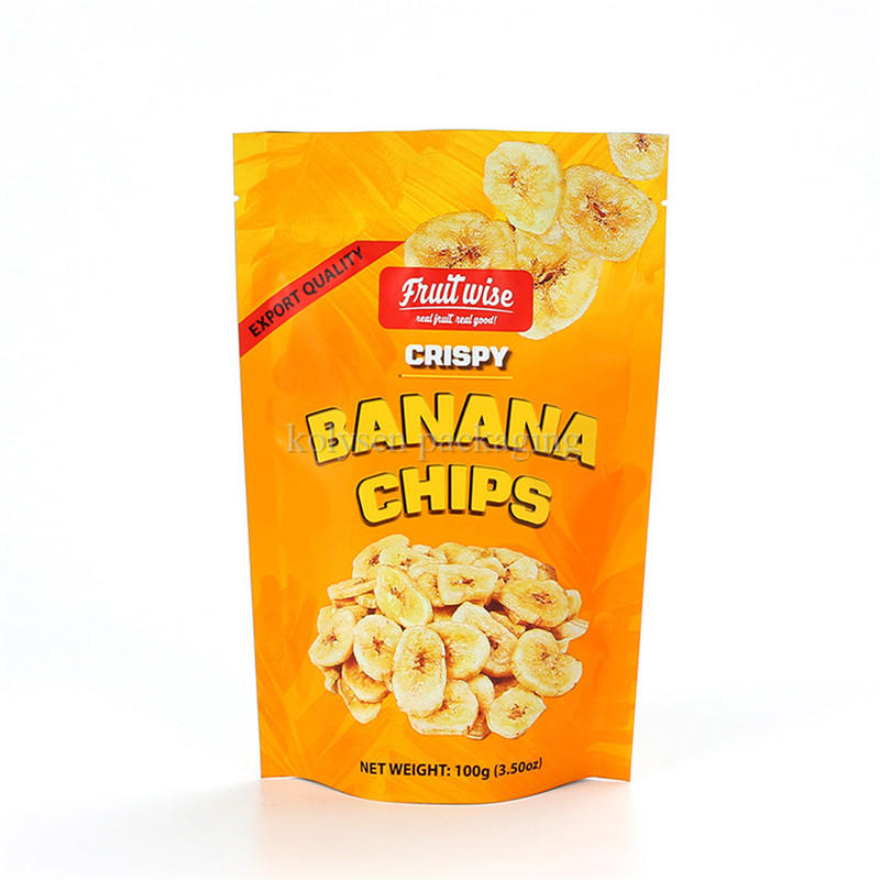 Banana Chips Packaging Bags  | Stand Up Pouch