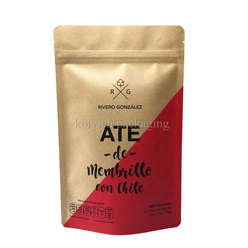 Kraft Paper Nuts Packaging Bags