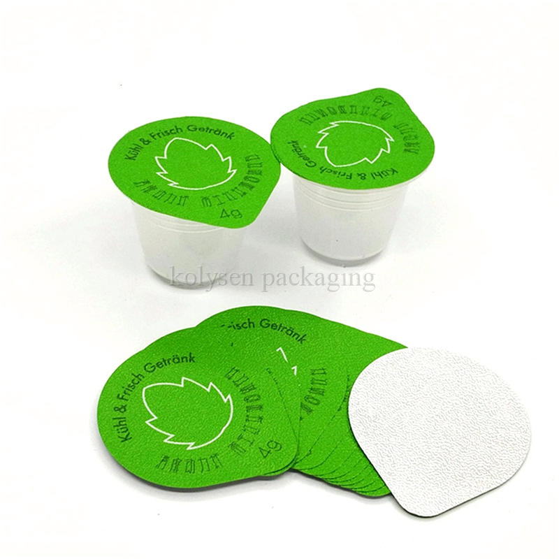 Heat Seal Aluminium Foil Lids for Cheese