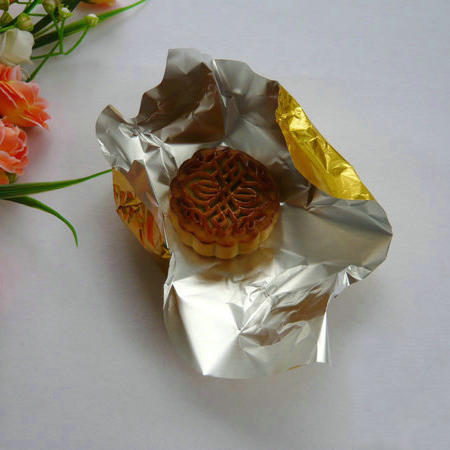 Wholesale custom colorful recycled packing aluminum foil for candy chocolate wrapper