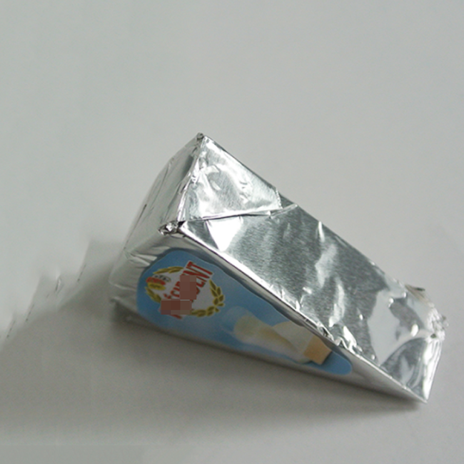 Aluminium Foil Wrapping Paper for Cheese food grade Processed Triangle Wrapper Packaging-Kolysen