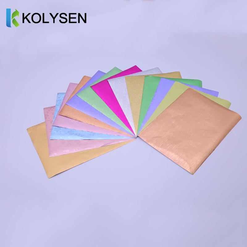 Printed Food Grade Colored 8011 Aluminum Foil For Chocolate Wrapping -Kolysen
