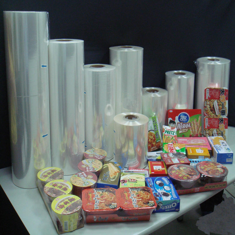 Soft External packing PVC Shrink Film For Outer Package