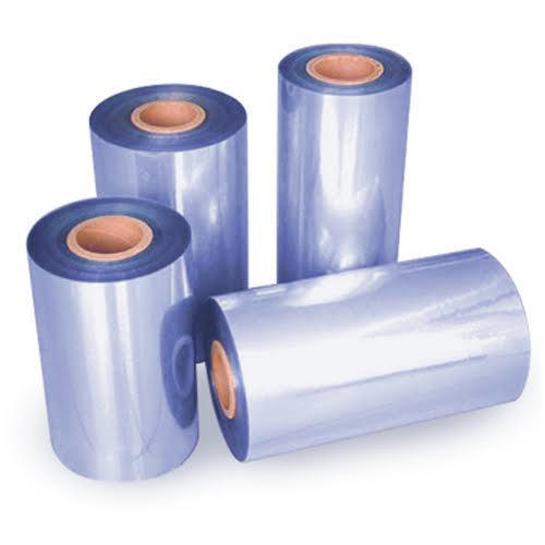 Printable Blue PVC plastic Heat Shrink Film On Sale Kolysen