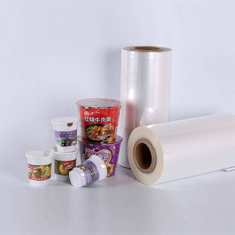 PE PVC PET POF Shrink Film Rolls Wrap