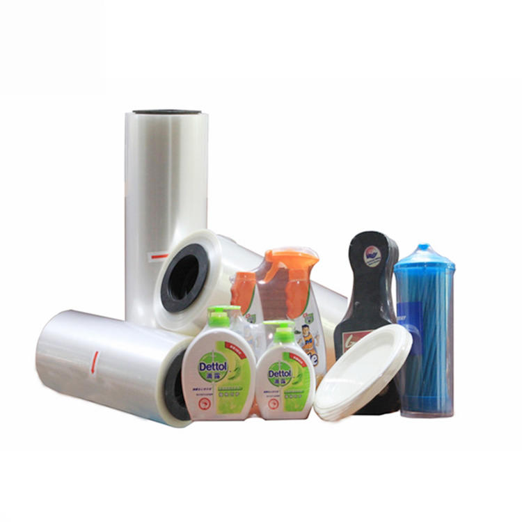 Printable Clear Plastic Heat Shrink Wrap Roll PVC POF PE BOPP Film